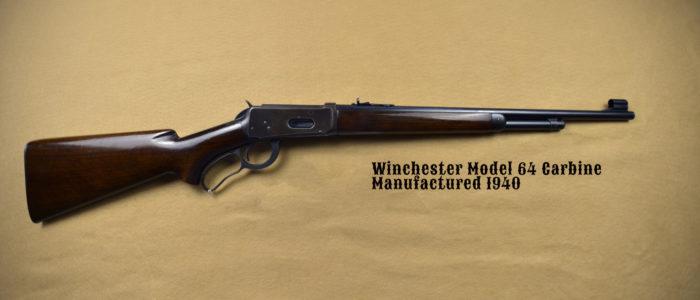 Winchester Model 64 Carbine