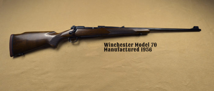 Winchester Model 70 338 Mag